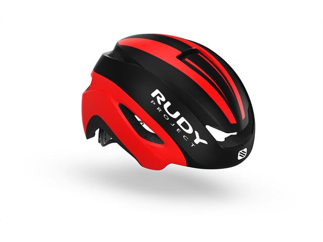 Rudy Project Volantis Kask rowerowy czerwony/czarny